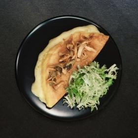 La recette de l'Omelette soufflée aux champignons en 14 minutes de Jean Imbert