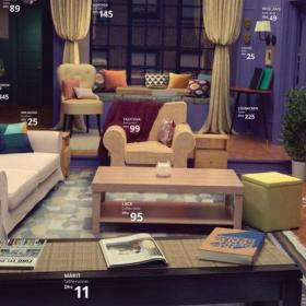 Grâce à Ikea, vous pouvez désormais recréer le salon emblématique de Friends, Stranger Things ou les Simpson