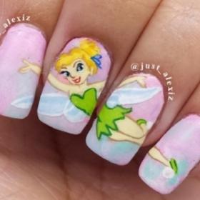 12 nail arts Princesses Disney qui nous font retomber en enfance