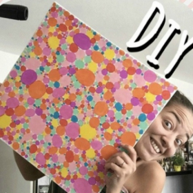 DIY : comment réaliser un tableau facile qui rend heureux