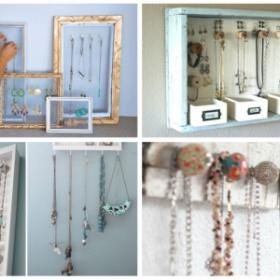 DIY : présentoir a bijoux