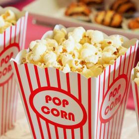 Cette machine géniale permet d'adapter la saveur du pop corn en fonction du film qu'on veut voir