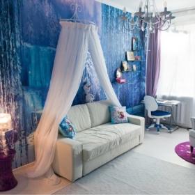 Cette chambre La Reine des Neiges est tellement belle qu'elle va faire rêver votre petite fille