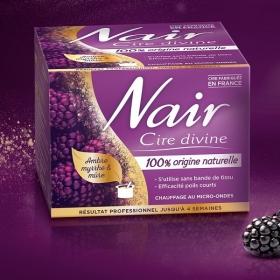 Une épilation parfaite avec la cire divine 100% origine naturelle de NAIR