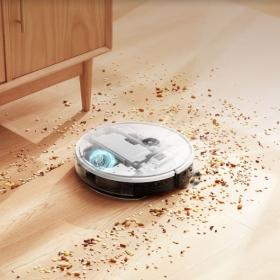Yeedi 2 Hybrid, l'aspirateur robot qui élimine efficacement saleté, débris et poils d'animaux