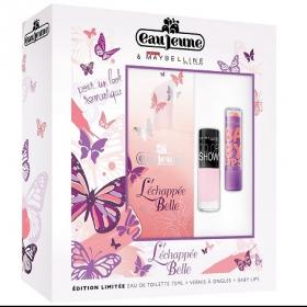 Concours : 1 coffret parfumé Eau Jeune x Gemey Maybelline L'Échappée Belle à gagner !