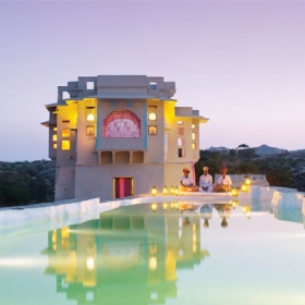 Le Lakshman Sagar en Inde est sûrement l'un des plus beaux hôtels du monde