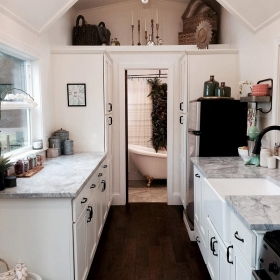 Cette petite maison ne fait que 18m² mais elle est aussi luxueuse qu'un manoir