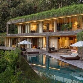Cette maison caméléon se cache au coeur de la forêt balinaise et elle est vraiment sublime