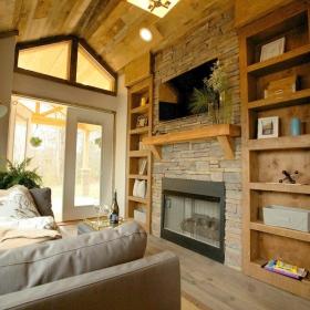 Cette maison semble petite, mais quand vous verrez l'intérieur, vous serez épaté !