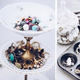 25 idées géniales pour ranger vos bijoux, vos accessoires et vos produits de beauté