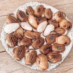 La recette des madeleines maison fourrées au chocolat et à la confiture