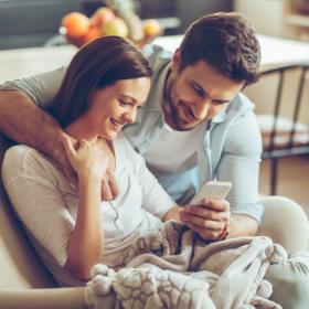 Voici le nombre de messages que les jeunes couples s'envoient chaque jour