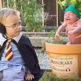 Ces photos de naissance sur le thème d'Harry Potter deviennent virales – et on comprend pourquoi !
