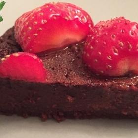 Le gâteau au chocolat à la pomme de terre