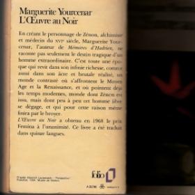 J'ai lu L'Œuvre au Noir de Marguerite Yourcenar