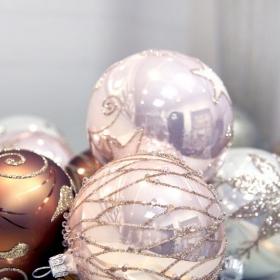 Concours de Noël : 3 packs de 4 magnifiques boules en verre Glassor au choix à gagner !
