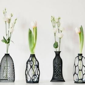Il crée des vases à impression 3D pour donner une nouvelle vie aux bouteilles en plastique