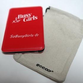 Ne tombez plus jamais en rade de batterie grâce à Accoo, la batterie externe design et made in France