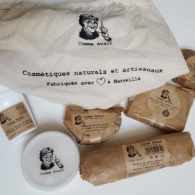 """""""Comme Avant"""", la jolie marque familiale de produits cosmétiques BIO, naturels et made in France"""