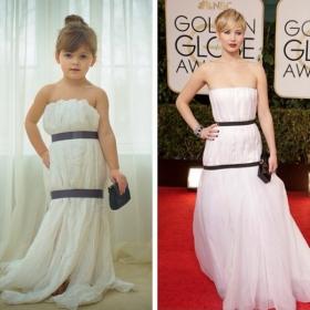 Cette maman créative recrée les robes de star pour sa petite fille avec les moyens du bord, et le résultat est juste WAOUH !