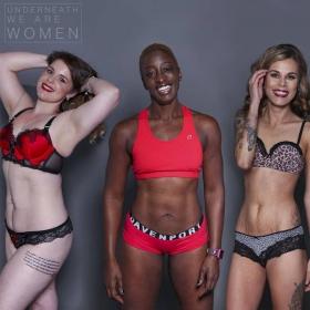 100 femmes révèlent ce qui se cache sous leurs vêtements pour lutter contre les stéréotypes de la beauté