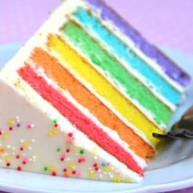 Et si vous prépariez un rainbow cake ?