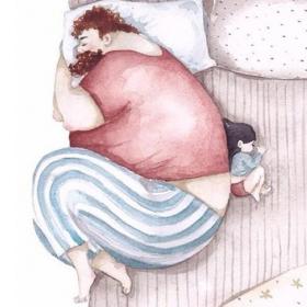 14 illustrations réconfortantes sur l'amour entre les papas et leur fille