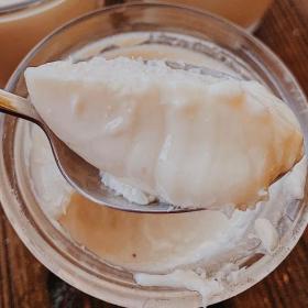 La recette des verrines panna cotta, coco et vanille légères