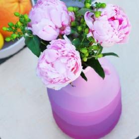 18 idées géniales pour créer un vase