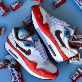 Nike sort des Air Max Kinder Bueno en édition limitée, et elles sont à croquer !