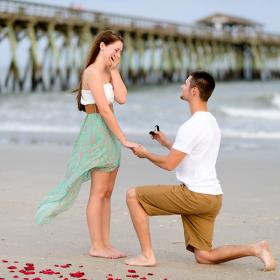 Le moment où vous avez le plus de chance qu'il vous demande en mariage