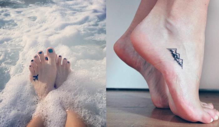 22 petits tatouages sur le pied qui vont vous faire craquer
