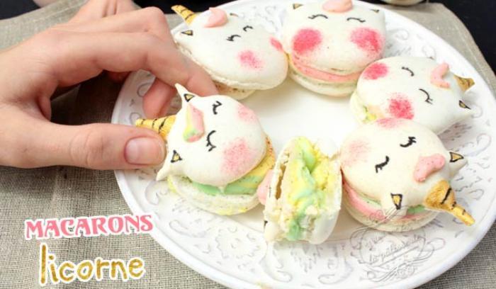 Les macarons licorne sont sûrement les desserts les plus sublimes que vous ayez jamais vus | #2