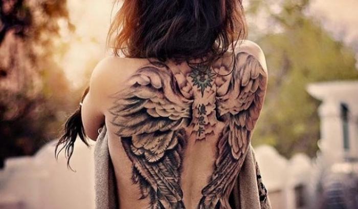15 tatouages ailes d'anges que vous allez avoir envie de vous faire tatouer d'urgence | #2
