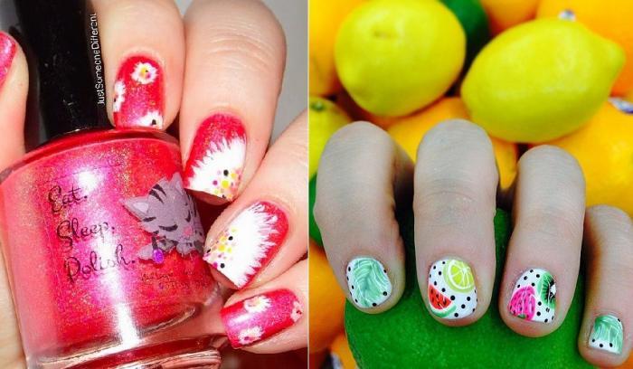 28 nail arts parfaits pour le printemps