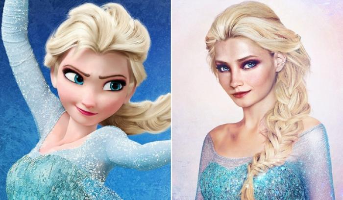 Découvrez à quoi ces 16 princesses Disney ressembleraient dans la vraie vie !