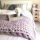 Apprenez comment tricoter votre couverture en lain...