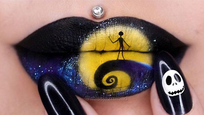 Cette make-up artiste transforme ses lèvres en véritables oeuvres d'art | #15