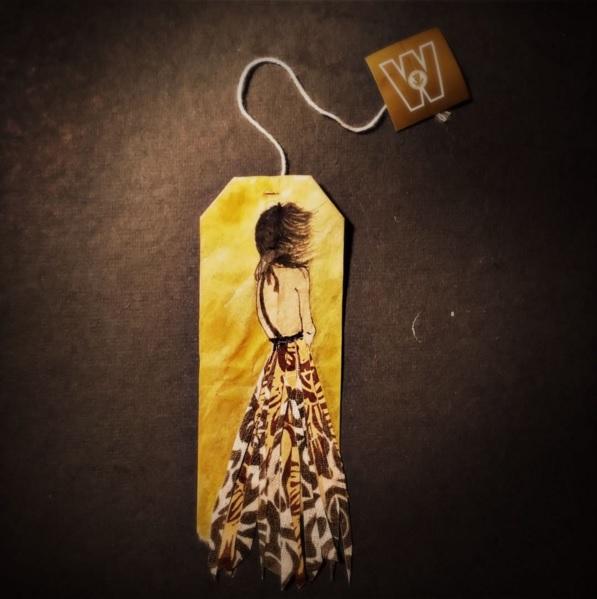 Elle dessine sur des sachets de thé usagés et le résultat est magnifique | #11