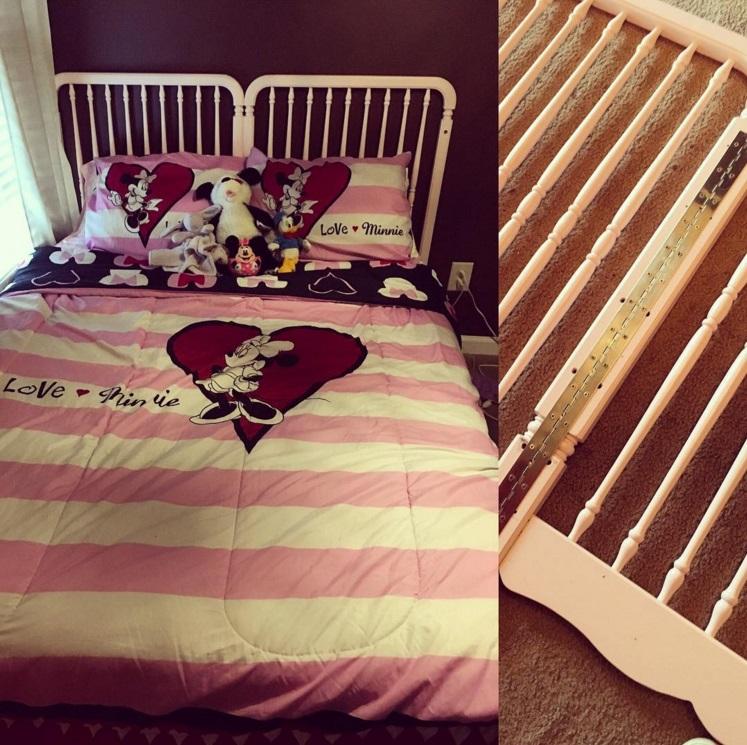 20 idées pour transformer le lit de bébé de votre enfant quand il devient trop grand pour aller dedans | #23