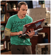 sheldon cooper big bang theory OMG je suis devenue une geek*