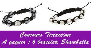 tictactime widget concours De beaux bracelets délicats pour un effet so girly (CONCOURS INSIDE)