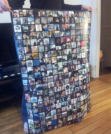 7 une Un poster avec les photos de profils de tous ses amis Facebook, c'est pas la classe ?! (CONCOURS INSIDE)