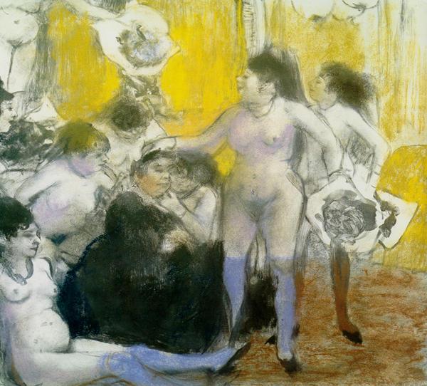 Degas et le nu Quand les peintres allaient au bordel   lexposition Degas et le nu au Musée dOrsay