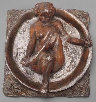 bronze du tub Degas et le nu Quand les peintres allaient au bordel   lexposition Degas et le nu au Musée dOrsay