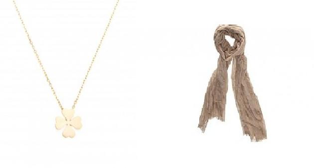 collier foulard Un look Diane Kruger et Joshua Jackson sans se ruiner