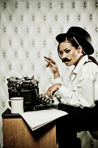 fashion journalist gettyimages1 Blogueuse cest (toujours) pas un métier avec Fashion Jurnaliste, journaliste en presse écrite