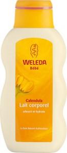 lait corporel au calenda weleda Les produits Weleda : la gamme au Calendula pour les bébés
