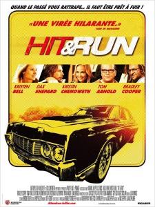 Hit and run 225x300 Les sorties ciné du mercredi 29 août